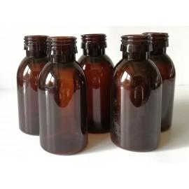 Butelka PET brązowa 100 ml fi 28