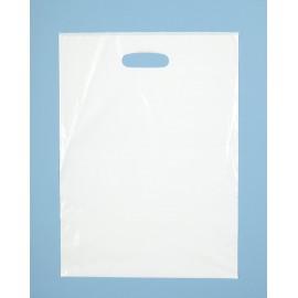 Reklamówka foliowa biała 20/28_52 mm (100 szt.)