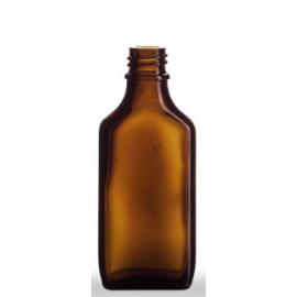 Butelka płaska 50 ml fi 18 (10 szt.)