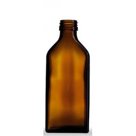 Butelka płaska 200 ml fi 28 (10 szt.)