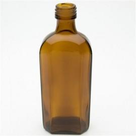 Butelka płaska 250 ml fi 28 TYP 69105 (10 szt.)