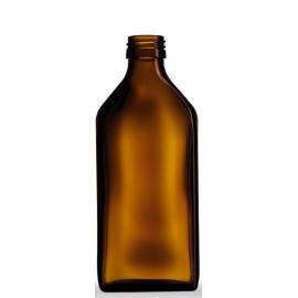 Butelka płaska 250 ml fi 28 (45 szt.)