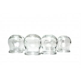 Bańki ogniowe szklane (zestaw)
