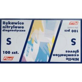"""Rękawice nitrylowe diagnostyczne r. """"S"""" (100 szt.)"""