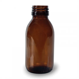 Butelka apteczna 105 ml fi 28